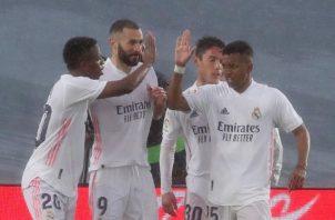 Real Madrid se prepara para enfrentar su partido de la Champions ante el Liverpool. Foto:EFE