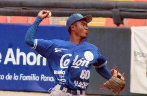 Zahir Zúñiga lanzador estelar de Colón, sería el abridor ante Panamá Oeste, hoy. Foto:Fedebeis.