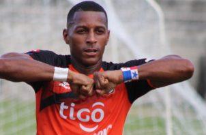 El panameño Nicolás 'Yuyu' Muñoz es el goleador del Águila, salvadoreño. Foto:EFE