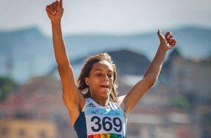 Nathalee Aranda, participará en salto largo.. Foto:COP