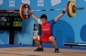 Ronnier Martínez busca su clasificación a los Juegos Olímpico de Tokio. Foto:COP/Archivo