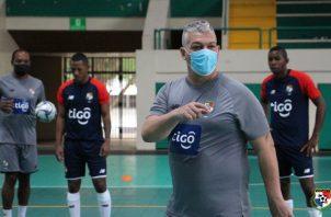 José Botana, técnico del seleccionado panameño. Foto:Fepafut