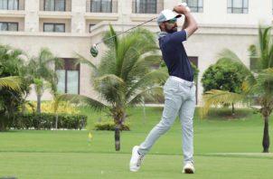 Omar Tejeira afirma que su mejor época de golf está por delante. Foto:Cortesía