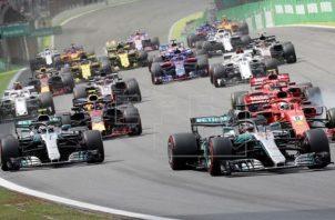 Carreras de Fórmula Uno. Foto:EFE
