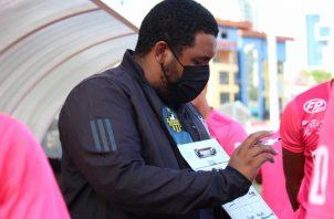 Francisco Perlo, técnico del CAI de La Chorrera.  Foto:@LPF