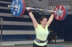 Mariadni Batista es una de las pesistas. Foto:COP