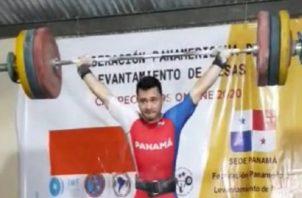 Ronnier Martínez, estará en el Mundial Sub-20 de Pesas. Foto: Cortesía.