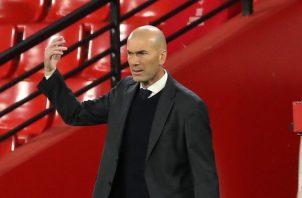 Zinedine Zidane. Foto:EFE