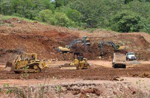 """El único megaproyecto que avanza """"a todo pulmón"""" es la construcción de la Línea 3 del metro entre Panamá y Ciudad Futuro. Cortesía Metro de Panamá"""