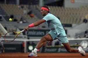 Rafael Nadal, jugará la final del torneo en Roma. Foto:EFE