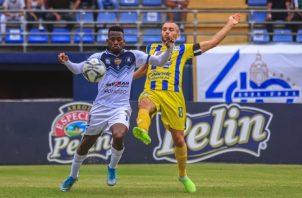 Veraguas y Universitario empataron a cero goles en el Omar Torrrijos. Foto:@LPF
