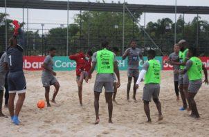 El equipo panameño entrenó ayer con miras al partido ante Estados Unidos. Foto:Fepafut