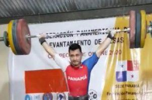 Ronnier Martínez estuvo en el Mundial de pesas Sub-20. Foto:COP