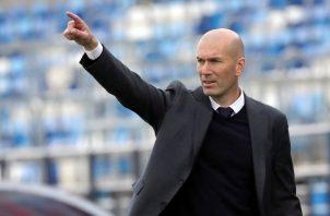 Zidane, sin títulos en la pasada temporada en el Real Madrid. Foto:EFE