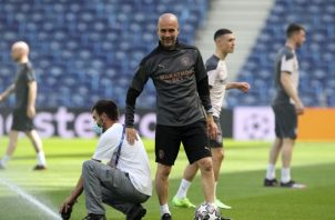 "Josep ""Pep"" Guardiola. Foto:EFE"