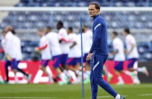 Thomas Tuchel, técnico del Chelsea. Foto:EFE