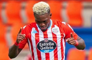 """José Luis """"Puma"""" Rodríguez del Lugo en la Segunda División de Espña. Foto:Twitter"""