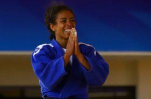 La panameña Miryam Roper debutará en el Mundial de Judo. Foto:Cortesía