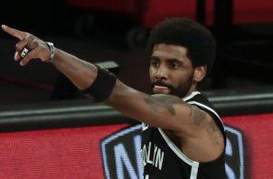 Kyrie Irving jugador de los Nets de Brooklyn. Foto:EFE