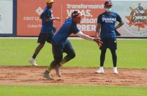La Sub-18 entrenaba en el 'Flaco Bala' Hernández. Foto:Fedebeis