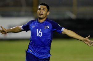 David Rugamas, jugador de El Salvador. Foto:EFE