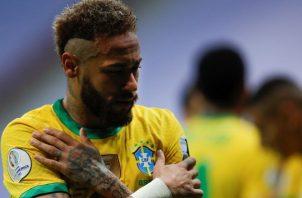 Neymar Jr. de Brasil estará contra Colombia. Foto:EFE