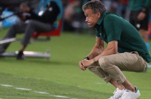 Luis Enrique Martínez, técnico de España. Foto:EFE