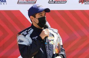 El piloto profesional panameño, Óscar Terán. Foto: Cortesía