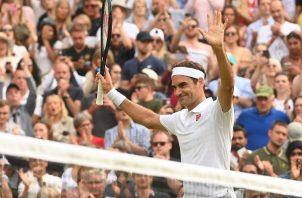 Roger Federer Foto:EFE