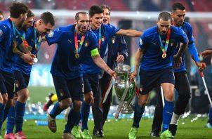 Italia recientemente se coronó en la Eurocopa. Foto:EFE
