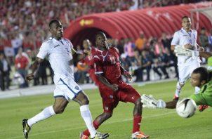 El equipo panameño tendrá un partido clave hoy ante Honduras en Copa Oro. Foto:EFE