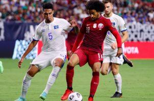 Catar eliminó a El Salvador en la Copa Oro. Foto:EFE