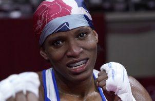 Atheyna Bylon busca su segunda victoria en los Juegos Olímpicos de Tokio. Foto: COP