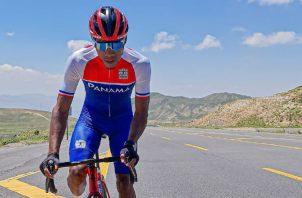 Christofer Jurado es una de las mejores cartas del ciclismo panameño. Foto:Fepaci