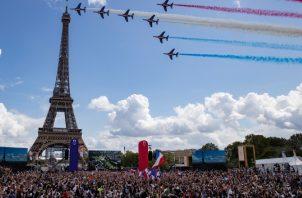 Francia se prepara para los Juegos Olímpicos 2024. Foto:EFE