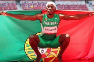 Pedro Pablo Pichardo nacido en Cuba y nacionalizado portugués, ganó oro para los lusos. Foto:EFE