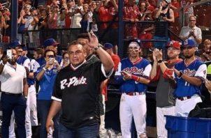 Carlos 'Calicho' Ruiz logró ganar una Serie Mundial con los Filis. Foto: