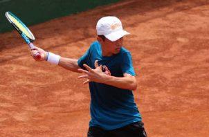 Chad Valdés Jr. se abre paso en el tenis internacional. Foto: Cortesía