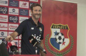 Thomas Christiansen, técnico del seleccionado panameño. Foto: Víctor Arosemena