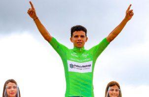 Franklin Archibold es el líder del Tour de Panamá. Foto:@Fepaci