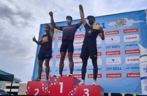 Víctor Ortiz, ganó sin mayores complicaciones los 10 kilómetros, ayer. Aurelio Martínez