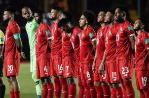Jugadores del equipo panameño. Foto:EFE