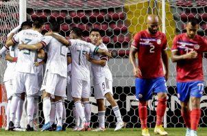 Costa Rica viene de perder ante México 0-1 Foto:EFE