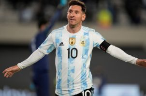 Messi hizo un triplete. Foto:EFE