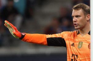 Manuel Neuer, capitán del Bayern. Foto:EFE