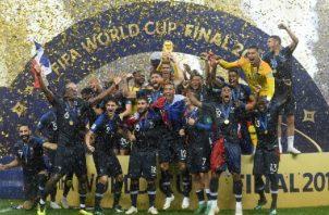 Francia es el actual campeón del mundo. Foto:EFE