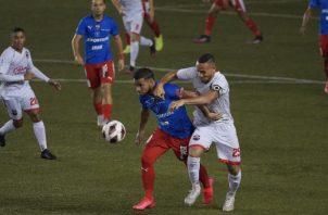 Plaza Amador y Sanfra no han tenido buen torneo. Foto:Fepafut