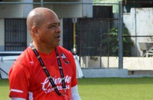 Jorge Santos, nuevo técnico del San Francisco. Foto:@sanfrafc_pa