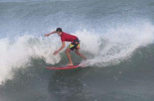 La válida de la Liga de Surf se realizará en Chame. Foto: Cortesía