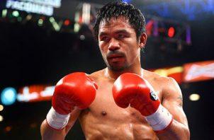 El filipino Manny Pacquiao.